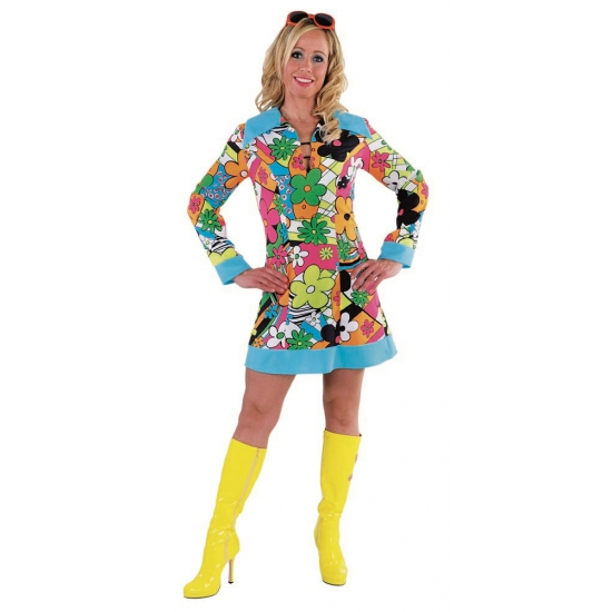 Carnavalskleding Hippie pak dames