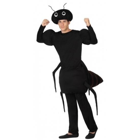 Carnavalskleding zwarte mier