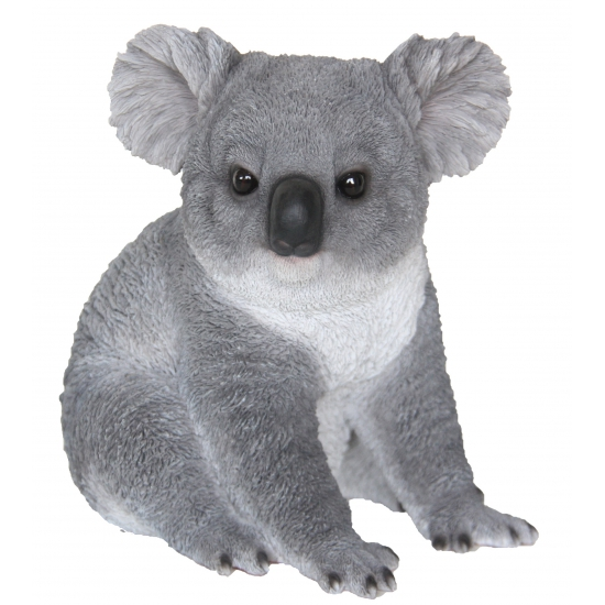 Decoratie beeldje koala 22 cm