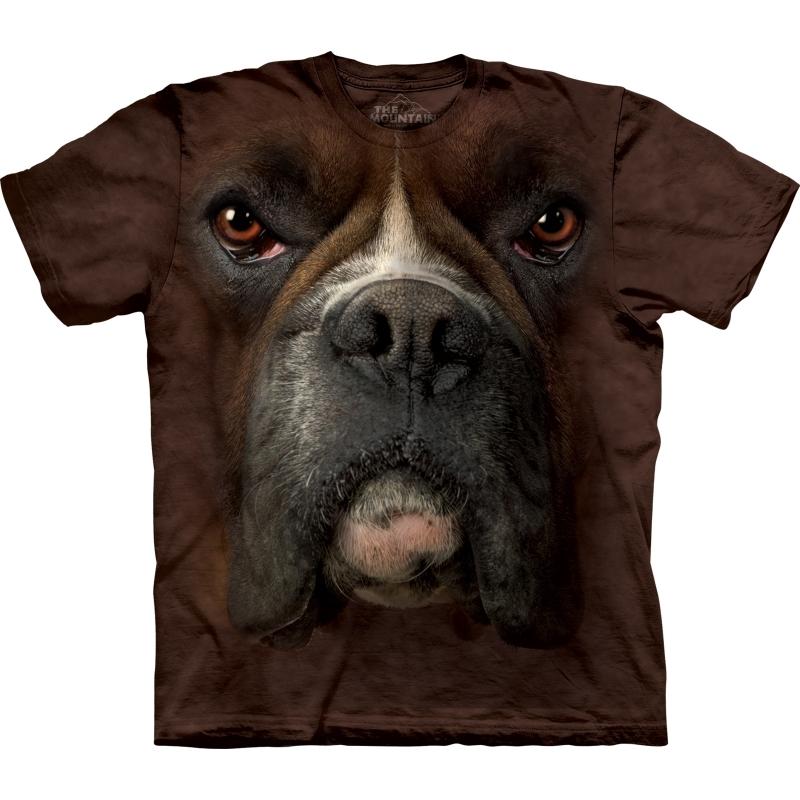 Dieren shirts Boxer bruin