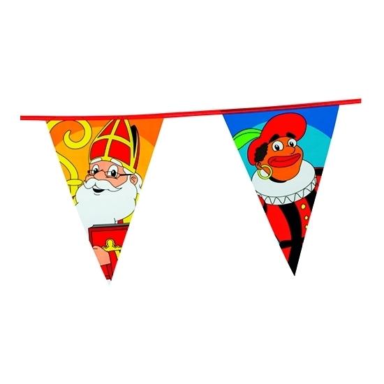 Feest mega Sinterklaas vlaggenlijn 6 meter thumbnail