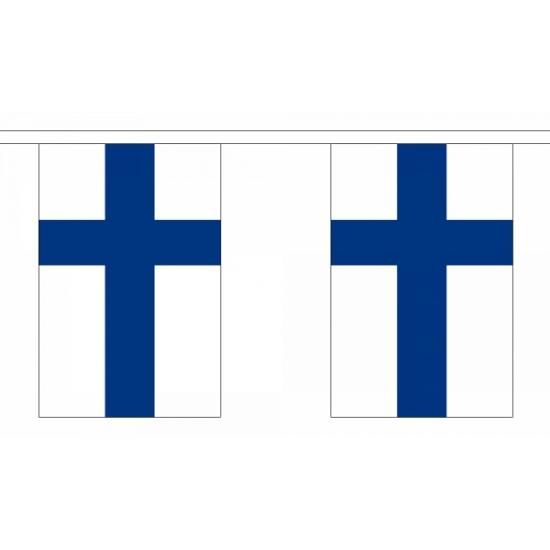Finland vlaggenlijn polyester