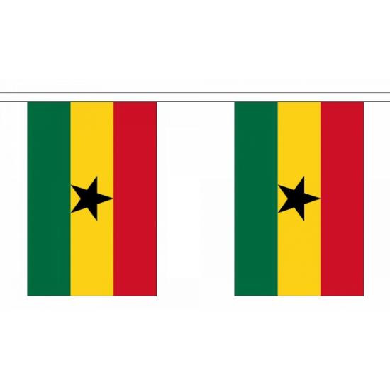 Ghana vlaggenlijn