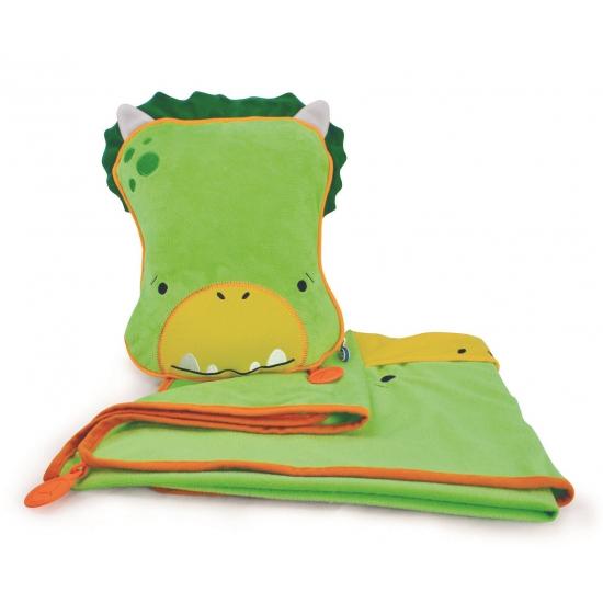 Groene draken slaapset Dudley voor kids