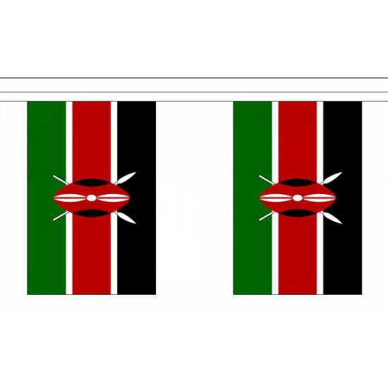 Kenia vlaggenlijnen