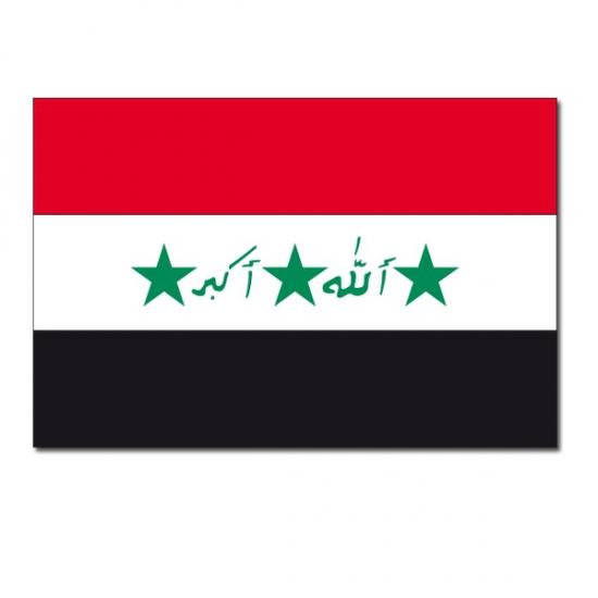 Landen vlag Irak 90 x 150 cm