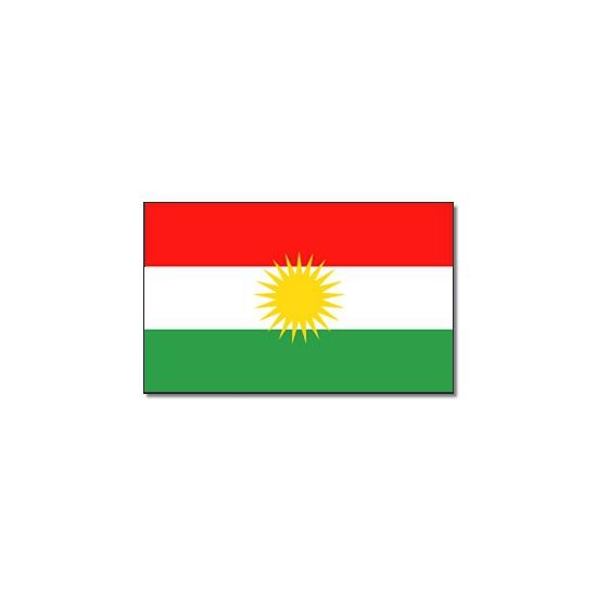 Landen vlag Koerdistan