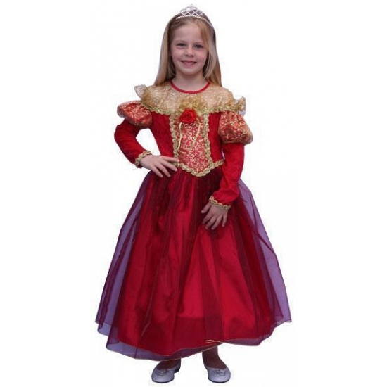 Middeleeuwse prinsessenjurk voor kinderen