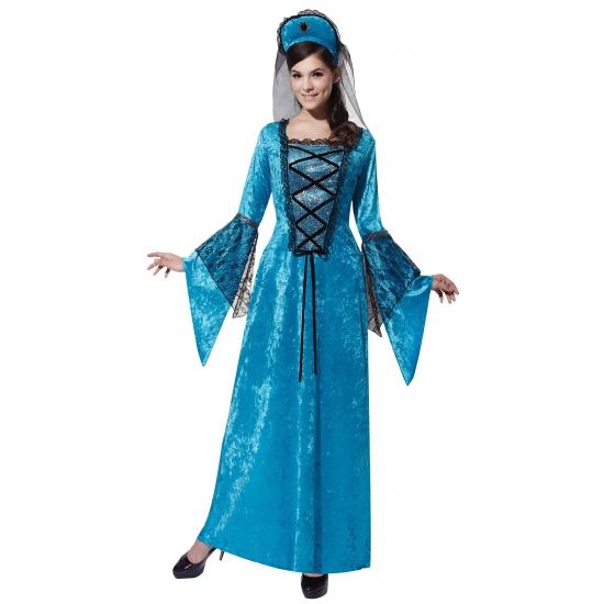 Middeleeuwse verkleedkleding voor dames