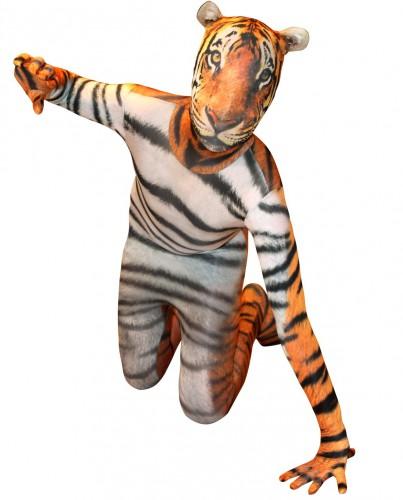 Morphsuit met tijger print voor kids