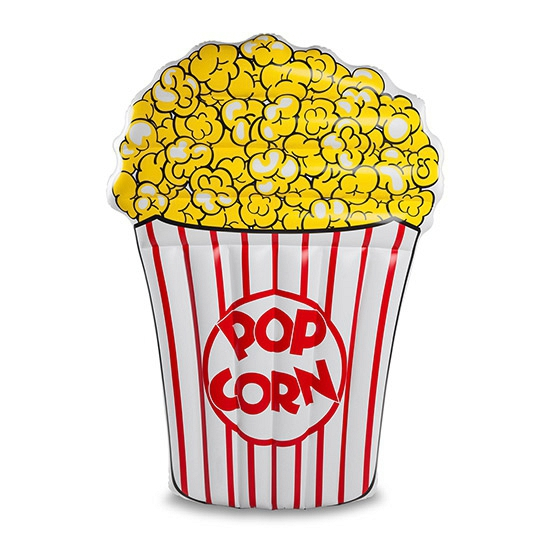 Opblaas popcorn luchtbed 152 cm
