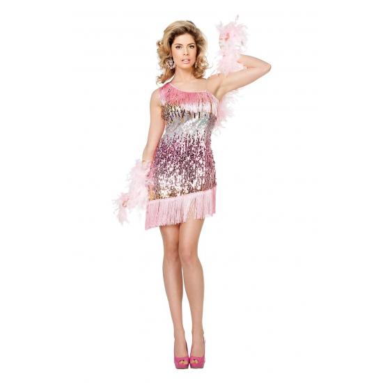 Pailletten show jurkje voor dames