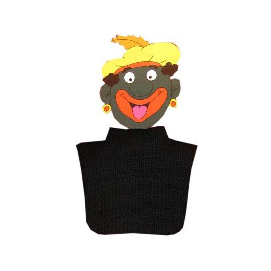 Pietcol zwart (bron: Oranje-artikelen-winkel)