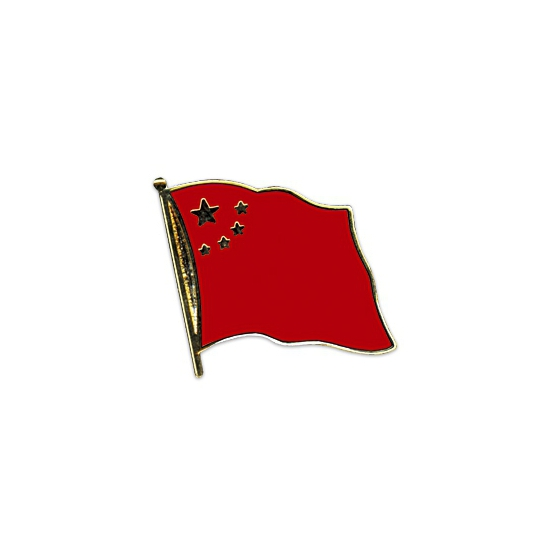 Pin speld vlag China 20 mm