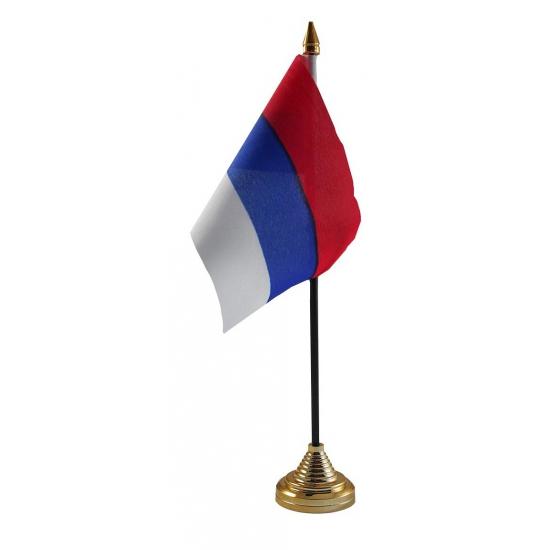 Servie vlag met standaard