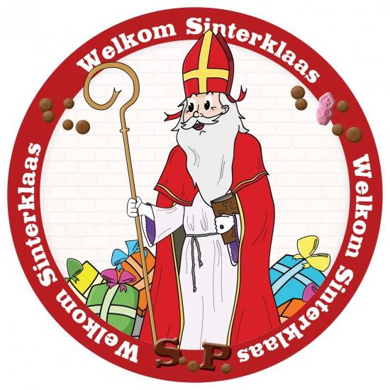 Sinterklaas viltjes 24 stuks thumbnail