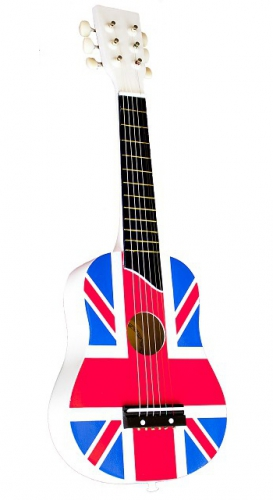 196096762Speelgoed gitaar Engelse vlag