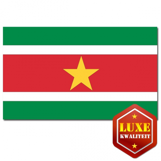 Surinaamse landen vlaggen