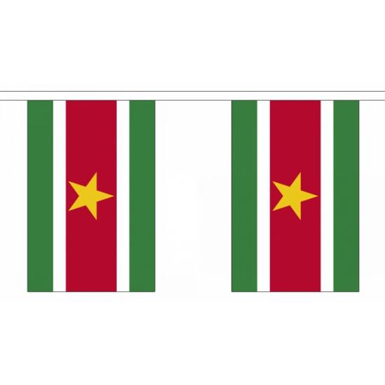 Suriname vlaggenlijnen