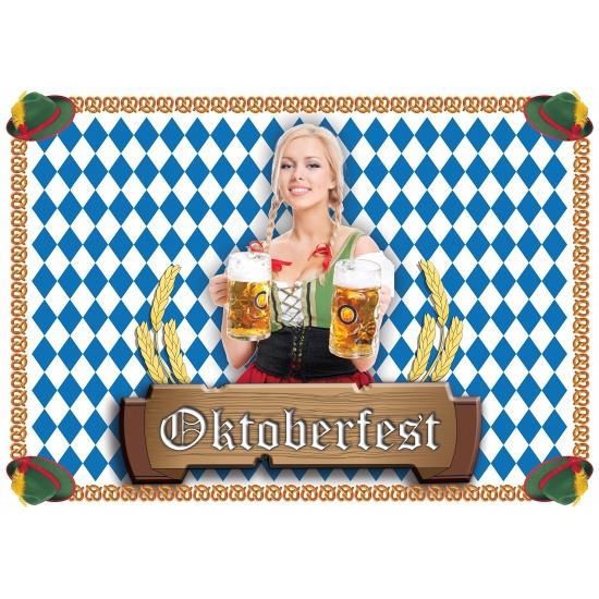 Tafel placemats Oktoberfest 100 stuks