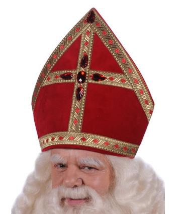 Vijfhoek model Sinterklaas mijter thumbnail
