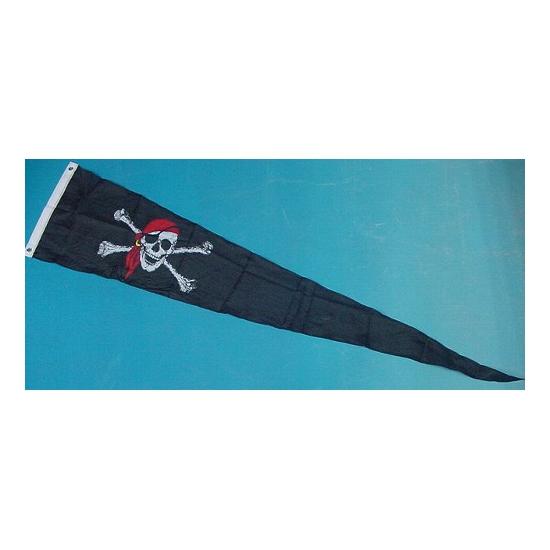 Wimpel piraat 28 x 148 cm