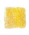 Paasversiering geel deco gras 45 gr