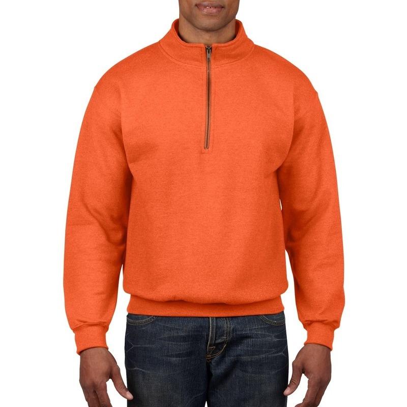 Oranje Trui.Oranje Trui Met Donkergrijze Stiksels Oranje Artikelen Winkel