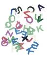 Decoratie letter pailletjes 6 mm 400 stuks