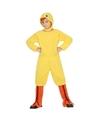 Dierenpak kip-kuiken-haan verkleed kostuum voor kinderen