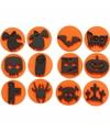 Halloween hobby materiaal stempels 12x