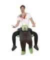 Halloween Instapkostuum zombie voor volwassenen