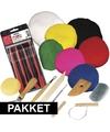 Klei hobby pakket groot inclusief gereedschap