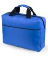 Laptoptas kobalt blauw 38 cm