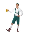 Oktoberfest Groene Oktoberfest lederhosen voor heren