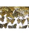 Party confetti gouden vlinders feestartikelen 15 gram