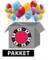 Poker thema feest pakket