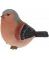 Sier vogeltjes Vinkje van 17 cm