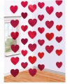 Valentijn hartjes decoratie 6 slingers