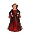 Vampier kinderjuk rood met zwart