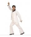 Witte disco heren kleding